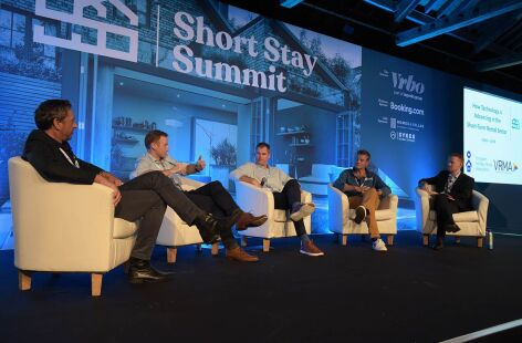 Hospiria at the Short Stay Summit Europe