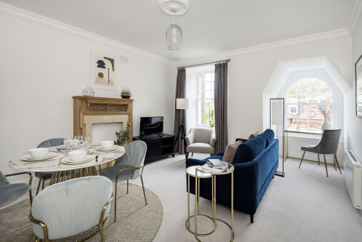 The Knightsbridge Suite next to Sloane Square