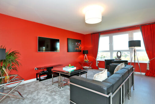Trendy apartment a short drive from Aberdeen City Centre